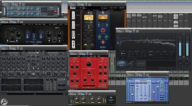 Greg Wells is also not shy of using plug-ins on his master bus!
