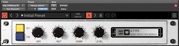 The secret to a bright yet warm vocal sound: the Gem Dopamine Dolby A encoder emulation.