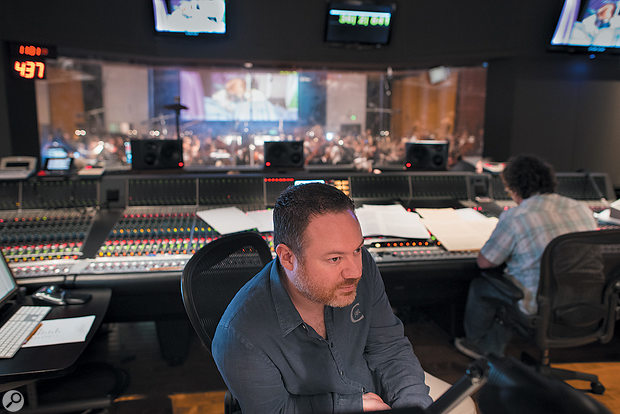 Casey Stone recorded and mixed the orchestral soundtrack to Frozen.