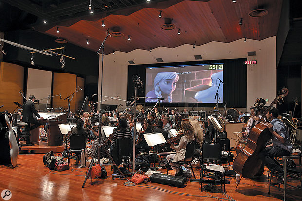 Inside Track: Frozen - Warner Bros Eastwood Scoring Stage