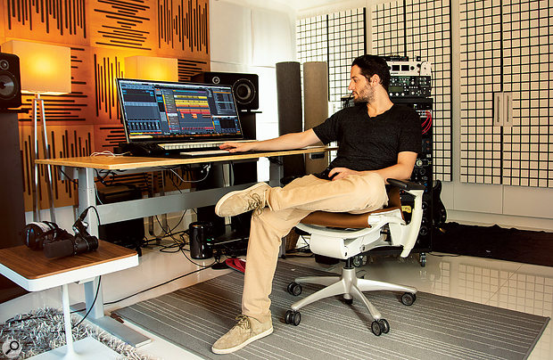 Ian Kirkpatrick's studio is mostly an in-the-box affair, with Steinberg's Cubase his DAW of choice.