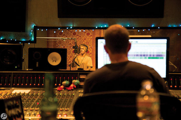 Most of Justin Bieber's vocals on Purpose were recorded in Studio 3 at the Record Plant in LA.