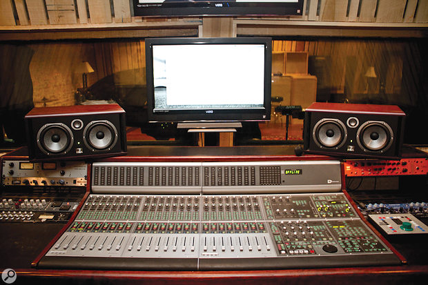 The Sound Pure studio in Durham, North Carolina, where Lil Baby's album My Turn was mixed.