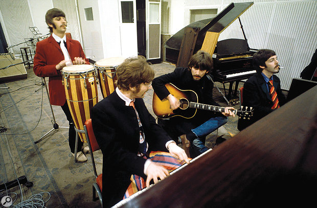 Sgt. Pepper's marked the Beatles' definitive transition from being a live band into studio experimentalists.