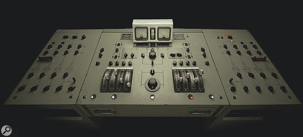 Although the remix was carried out 'in the box', tracks were frequently bussed out to Abbey Road's restored REDD valve mixer.
