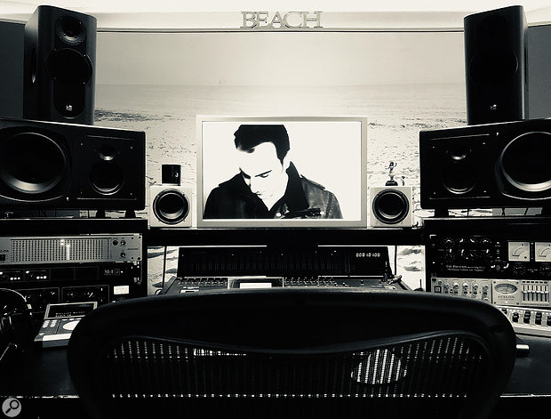 James Reynolds' own facility in West London is called Beach Studios.