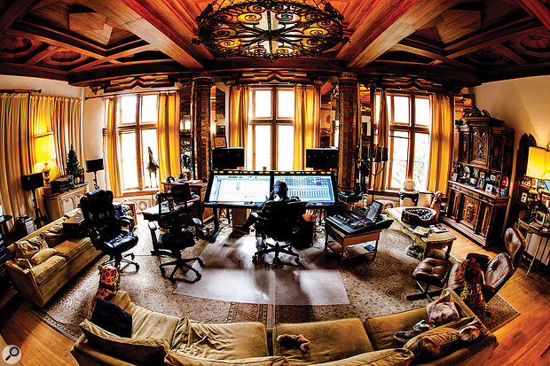 Mark Needham's Red Oak Studios is not your average home studio!