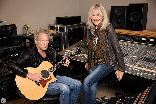 With its two main participants busy touring in Fleetwood Mac, the Lindsey Buckingham/Christine McVie album was nearly four years in the making.