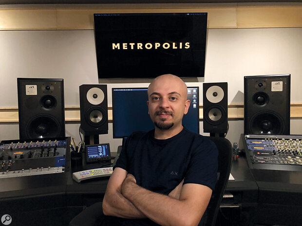 Alessandro Marcantoni at the current incarnation of Metropolis Studio, Milan.