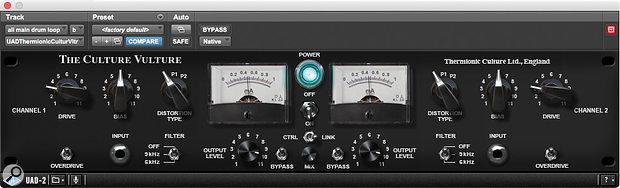 UAD-2 Culture Vulture plug-in.