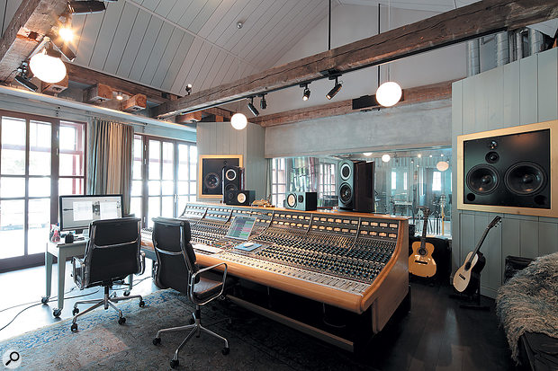 The instrumental backing tracks were recorded on the Neve console at Benny Andersson's Riksmixningsverket or RMV Studios, just down the road from Mono Music.