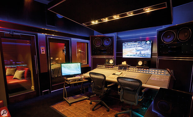 Most of Polo G's Hall Of Fame album was recorded in Paramount Studio X.