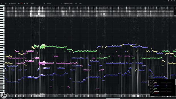 The chorus from Radiohead's 'Sulk' as viewed in Infinity.