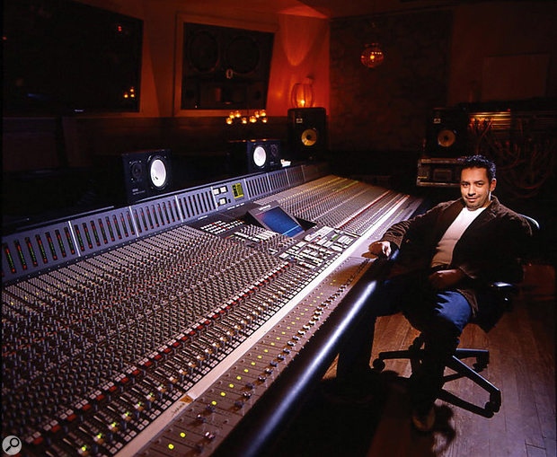 Manny Marroquin's room at Larrabee Studios has an SSL XL 9000 K-series console as its centrepiece.