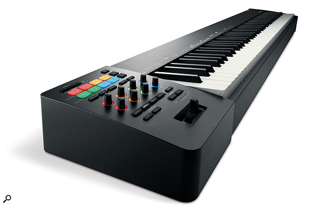 "The Roland A-88 MkII, a  ""MIDI 2.0-ready"" master controller keyboard."