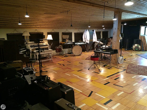 Many of the songs on 22, A  Million began life as jams in the large Studio A live room at April Base.