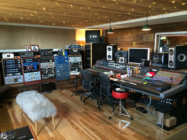 Studio A has been remodelled several times under Chris Messina's supervision, and the control room now houses an impressive collection of outboard.