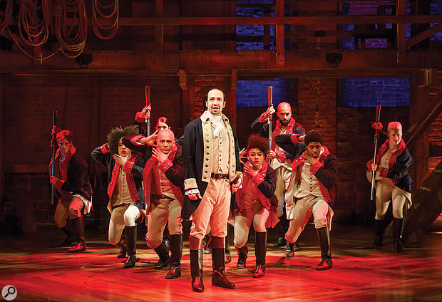 Hamilton: An American Musical is the creation of Lin-Manuel Miranda, who also took the title role.