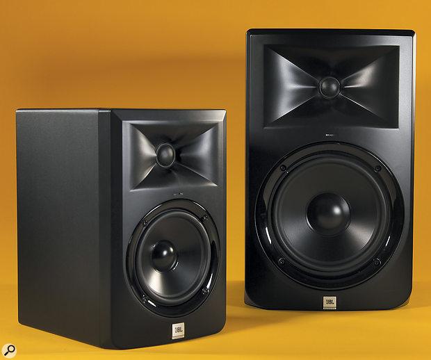 JBL LSR305 & LSR308 monitors.