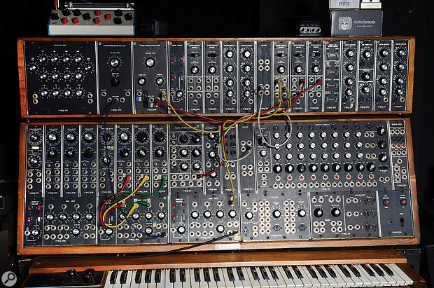 Jean-Michel Jarre's idea of a 'limited' setup probably seems like a wild dream to most SOS readers! One instrument much used in the making of Electronica was his Moog modular synth.