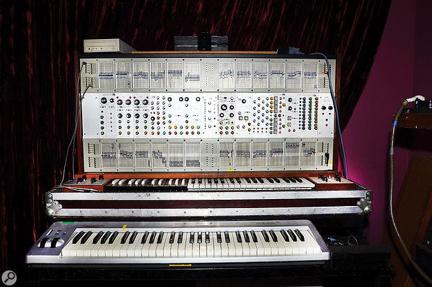 Jean-Michel Jarre says that he was more of an ARP than a  Moog devotee in his early days, and with instruments such as this ARP 2500 modular synth available, who can blame him?