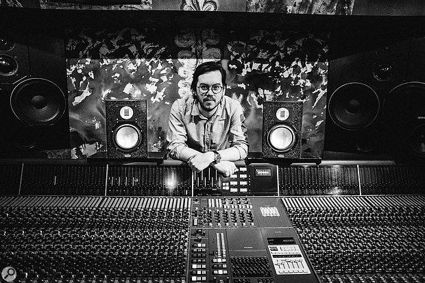 Jolyon Thomas at London's Strongroom Studios.