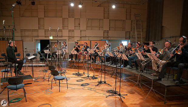 Junkie XL Brass includes an extra-large 12-player trombone section. Ear plugs not included.