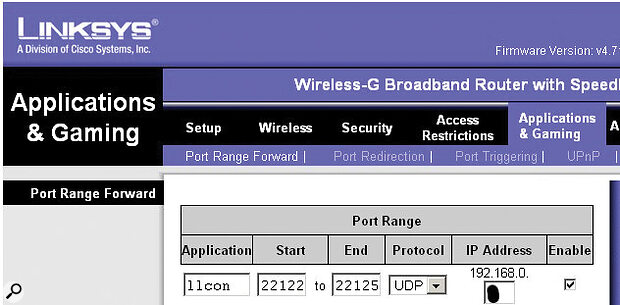 Screen5: In order to set up a private server, you'll need to open up port 22124 in your router.