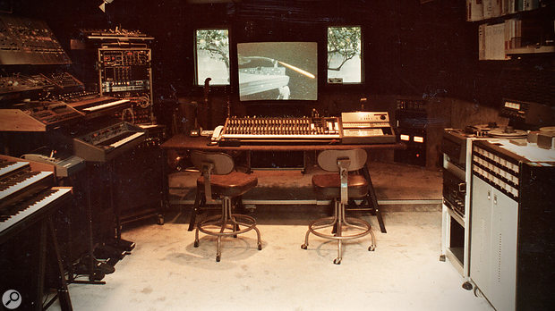 The last John Carpenter movie to be scored at Pi West using what Alan Howarth describes as 'phase 1' of his setup was 1983's Christine.