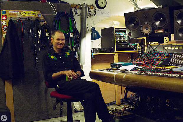 When not working in a white cube or his home studio, John Parish often makes use of Bristol's Toybox Studios, home to his own Trident mixer.