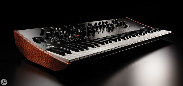 The Prologue may have wooden end-cheeks, but it's a very different beast to the polysynths of yore.
