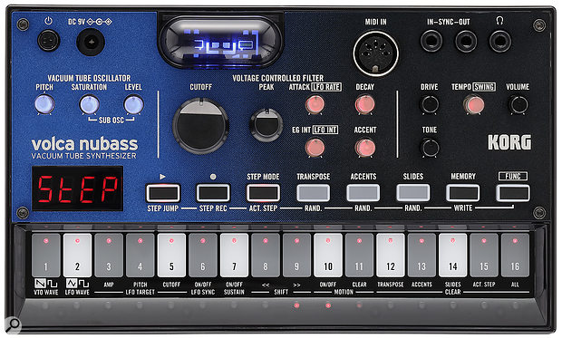 The standard-issue Volca format offers an excellent acid-to-size ratio.