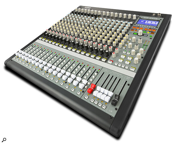 Korg SoundLink MW-2408 analogue/digital mixer.