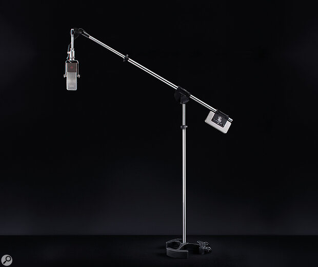 The counterweight and industrial-strength boom clamp make light work of even the heaviest mics and arrays, while the wheels mean that you don't have to support the full weight of the stand when moving it.