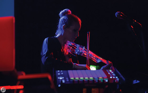 A classical violinist, Laura's first experience of electronic music involved playing live violin at clubs and raves.