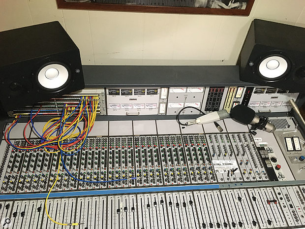 For the recording of Go To School, the D'Addario brothers invested in this rare Philips/Polygram analogue console.