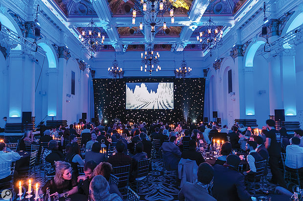 A great night out and an opportunity to get ahead — what's not to like? This was the 2016 Production Music Awards.