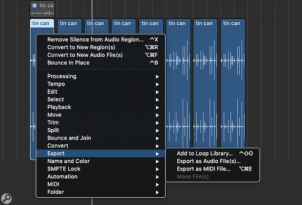 You can add your own audio files to the Apple Loop Library, after which they'll conform to the tempo and key of any project you import them into.