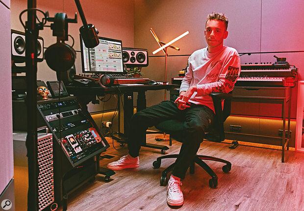 Lostboy in his London studio.