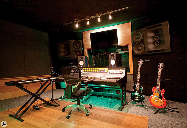 Louis Bell has made his home from home at LA's Electric Feel Studios, though he rarely uses the studio's console or impressive selection of outboard.