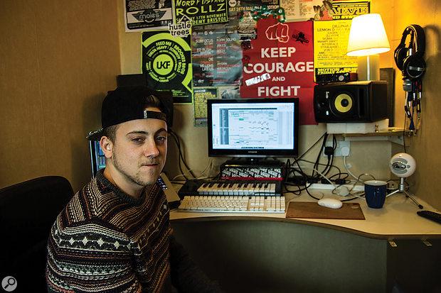 Rescued this month: dubstep artist Alex Joyce.