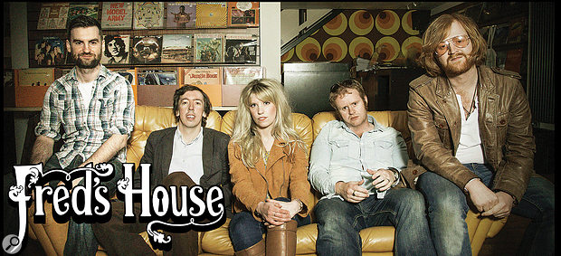 Mixed this month: Cambridge–based band Fred's House.