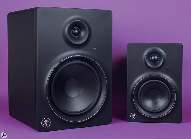 Mackie MR5 & MR8 Mk2 monitors.