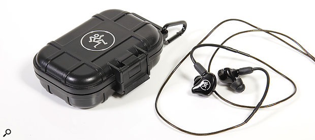 Each MP Series IEM comes with arange of accessories and ahard-shell case.