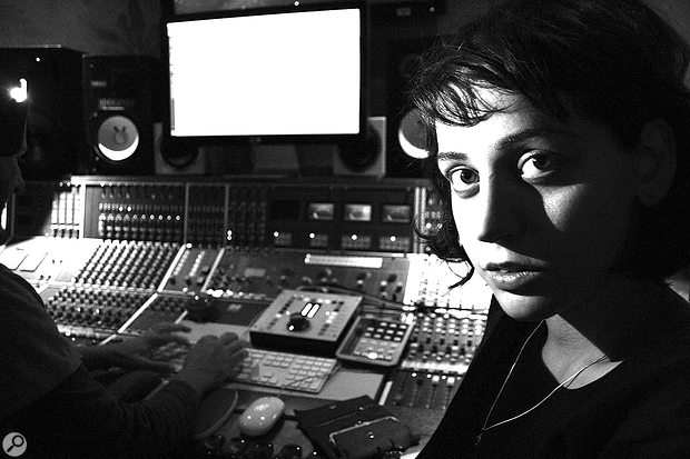 Marta Salogni in Studio 4 at London's Strongroom Studios, which she helped to commission.