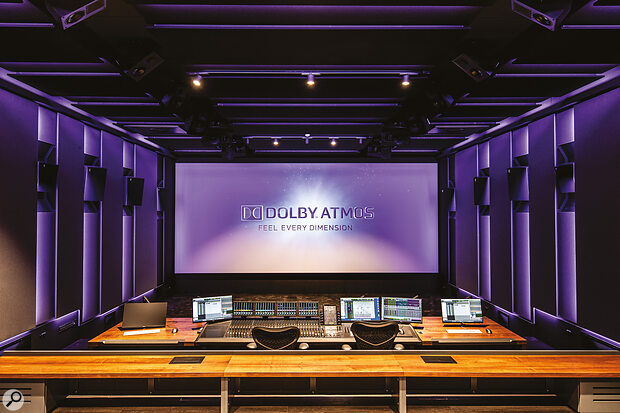 Garrix's STMPD Recording Studios is one of only nine facilities in the world to have a Dolby Atmos Premier Studio certificate.