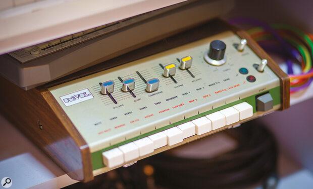 Analogue drum machines figure prominently in Matt Berry's studio.