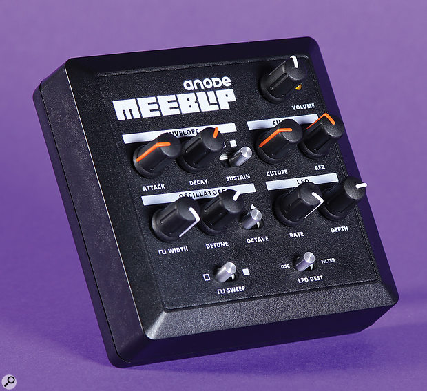 MeeBlip Anode synthesiser.