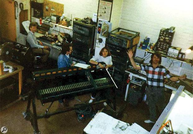 The original Midas factory in Stanhope Street, London.
