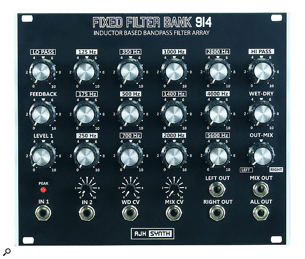 AJH Synth Fixed Filter Bank 914